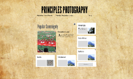 Principles Real World Photography