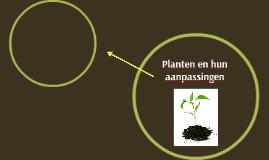 Planten en hun aanpassingen