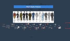 Men's Suits History