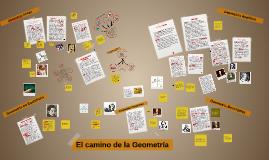 Copy of El camino de la geometria