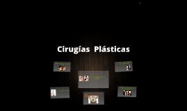 Cirugías  Plásticas