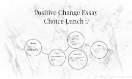 Positive Change Essay