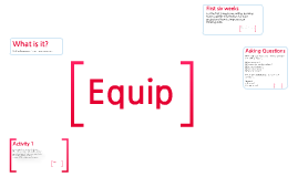 Equip - Lesson 1
