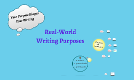 Copy of Six Purposes for Real World Writing