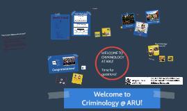Welcome Crim 2015