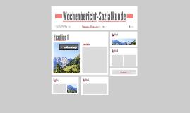 Wochenbericht-Sozialkunde