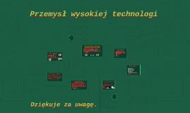 Przemysł wysokiej technologi