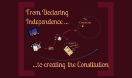 From Declaring Independence to the Constitution