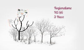 3H H3 P6 Regionalisme