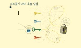 Copy of Copy of 브로콜리 DNA 추출실험