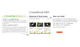 Crowdfund SW1