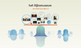 Copy of het Rijksmuseum