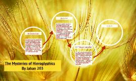 The Mysteries of Hieroglyphics