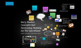 EDU 335 Early Number Concepts & Developing meaning for the operations