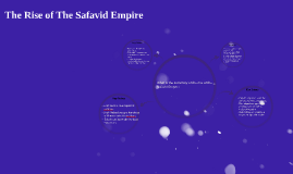 The Rise of The Safavid Empire