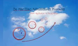 De Marillac Admissions Process