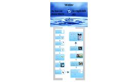 Scrapbook #2 Water
