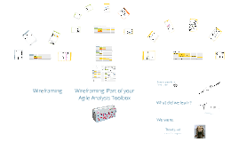 Wireframing - Part of your Agile Analysis Toolbox