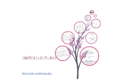 MATERIALES AUDIOVISUALES-LECTURAS