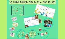 LA EDAD MEDIA. 476 (s. V) a 1453 (S. XV)