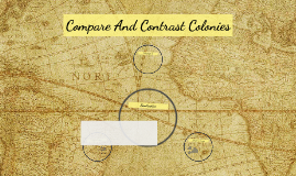 Compare And Contrast Colonies