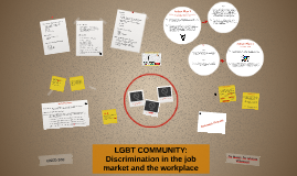 LGBT COMMUNITY: Discrimination in the job market and worplac
