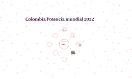 Colombia Potencia mundial 2032