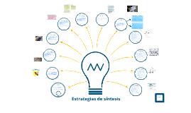 Copy of Estrategias de síntesis