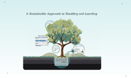 A Sustainable Approach to Teaching and Learning