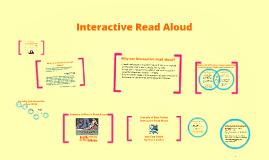 Copy of Interactive Read Alouds