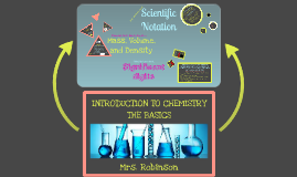 Introduction to Chemistry: The Basics