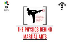 Physics Behind Martial Arts