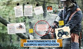 Copy of MANTENIMIENTO DE EQUIPOS MOTORIZADOS