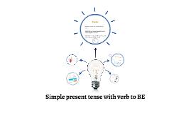 GrammarSimplePresentWithVerbToBe
