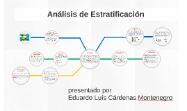 analisis de estratificacion