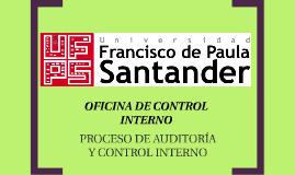 Oficina de Auditoria y Control Interno