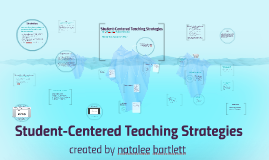 Copy of Copy of Student-Centered Teaching Strategies