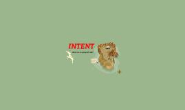INTENT - Photo