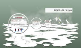 TEMA 3 EL CLIMA