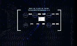 Mapa de Flujo de Valor. Tecnocomputación3000,S.A.