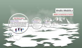 Grade 5 Module 3