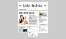 Hábitos y Creatividad