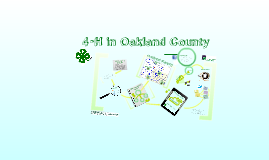 4-H in Oakland County