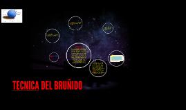 Copy of TECNICA DEL BRUNIDO
