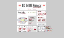 MIX de MKT: Promoção