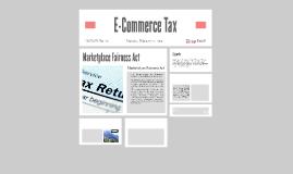 E-Commerce Tax