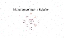 Manajement Waktu Belajar