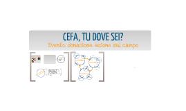 17 Dicembre - New Holland - Forme di comunicazione innovative per il no-profit e per la cooperazione - CEFA, TU DOVE SEI 2012