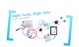 Right Tools, Right Jobs: A Career Center Workshop