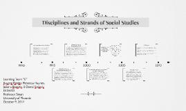 Disciplines and Strands of Social Studies